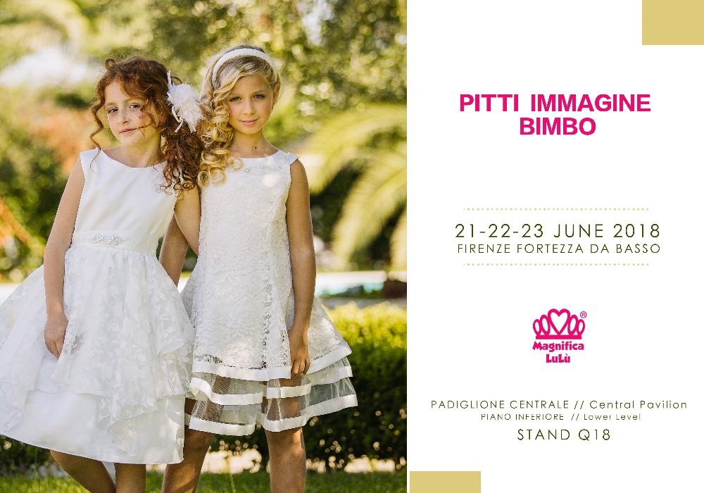 PITTI IMMAGINE BIMBO  Firenze 21-23 Giugno 2018